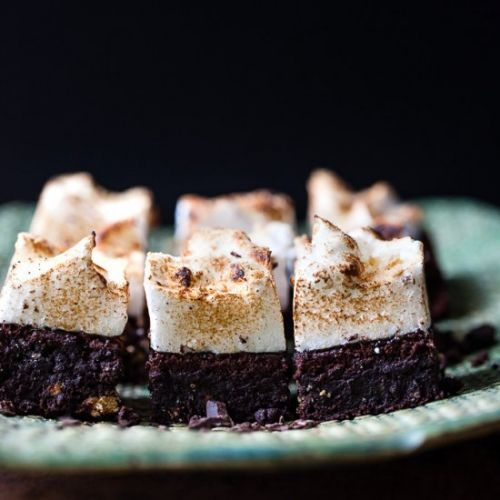 QUICK AND EASY S'MORES BROWNIES