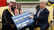 Trump Inflates Saudi Arms Deal But Stays Silent On Saudi Cash In His Own Pocket