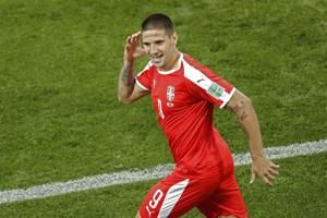 Xhaka and Shaqiri score for Swiss, make Albanian symbol