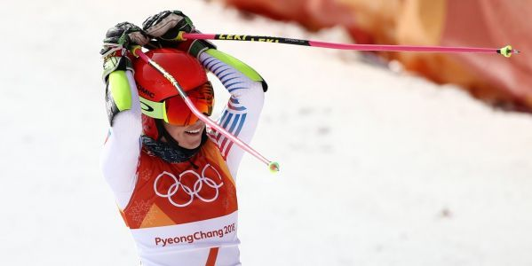 Mikaela Shiffrin wins her first gold of the Winter Olympics - and she's got more to come