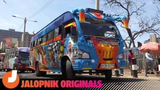 Why the Loudest and Coolest Buses in the World Are in Nairobi