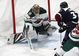 Staal scores twice, Wild ride 5-2 win over Avs into break