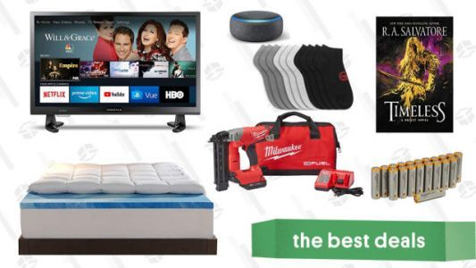 Sunday's Best Deals: Fire TVs, Instant Pot Max, AmazonBasics Batteries, and More