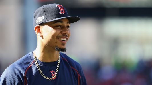 MLB hot stove: Mookie Betts, Red Sox settle at record $20M, avoid arbitration