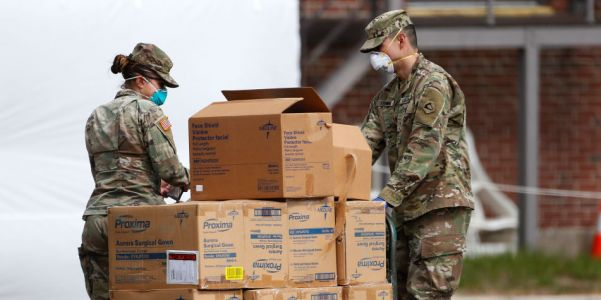 The US Army warned 2 months ago that the coronavirus could kill as many as 150,000 Americans