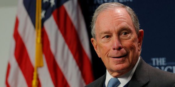 Michael Bloomberg's campaign confirms it hasn't been hacked after tweeting about meatballs, tattoos, and setting wild animals loose on the Democratic debate stage