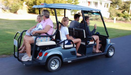 Golf carts becoming popular, especially in downtown Greenville, but police remind of new laws