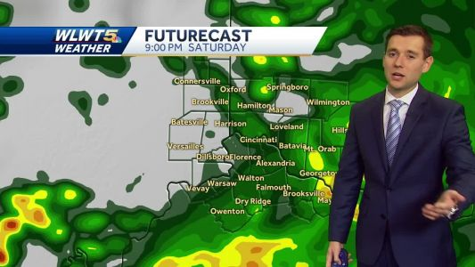 Chance for heavy rain this afternoon