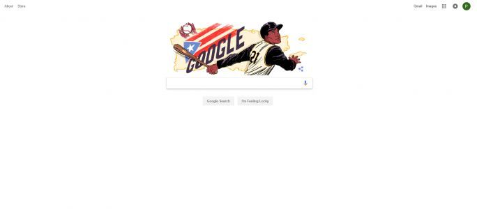 Google honors Roberto Clemente with Google Doodle