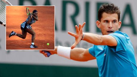 Thiem plays down 'bad personality' barb at Serena Williams, offers to team up for mixed doubles