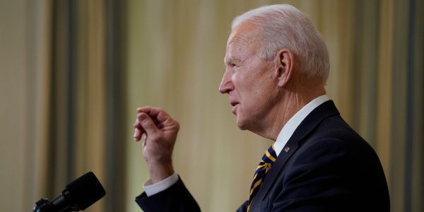 Biden warns Americans not to let their guards down as new COVID-19 variants spread