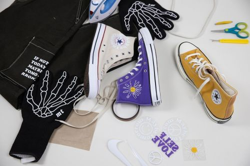 Learn to Customize Your Canvas Chucks Using Heat Transfer