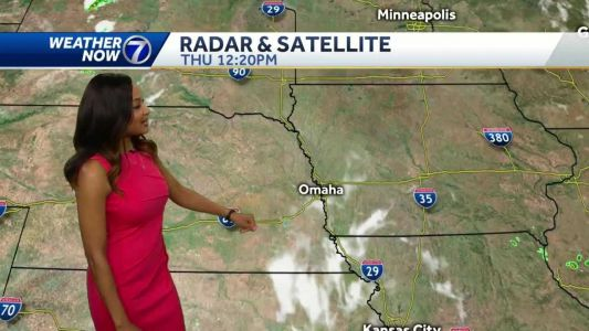 A stretch of hot, humid weather ahead