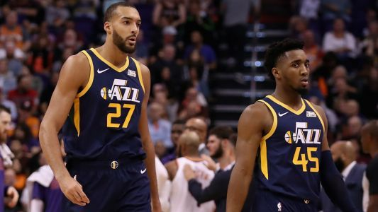Donovan Mitchell on relationship with Jazz teammate Rudy Gobert: 'Right now, we're good'