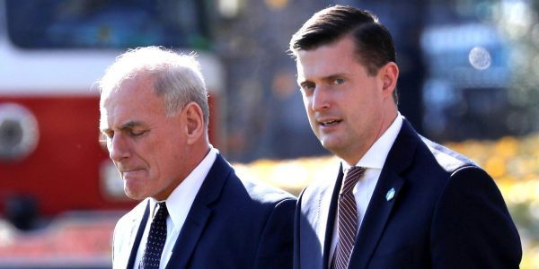 The FBI told White House lawyer Don McGahn that Rob Porter abused his wives more than a year ago