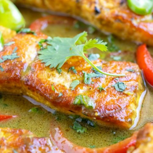 Easy Salmon Curry Recipe