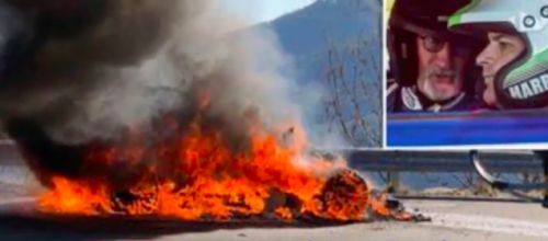 Chris Harris And Eddie Jordan Fled Alpine A110 Fire During Top Gear Shoot