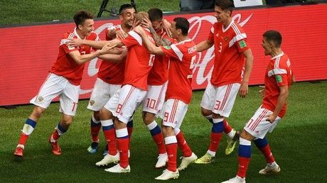 Russia opens World Cup with dominant 5-0 win over Saudi Arabia