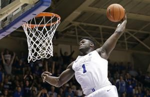 Duke's Williamson, Barrett top list of forwards in NBA draft