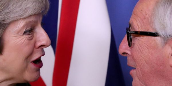 The EU sends letter of reassurance to Theresa May in last ditch attempt to prevent Brexit deal defeat