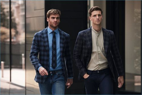 Edward Wilding & George Alsford Embrace Smart Fall '18 Style with Belvest