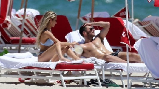 Um, What?! Olivia Culpo's Ex-Boyfriend Danny Amendola Hits the Beach With a Mystery Babe