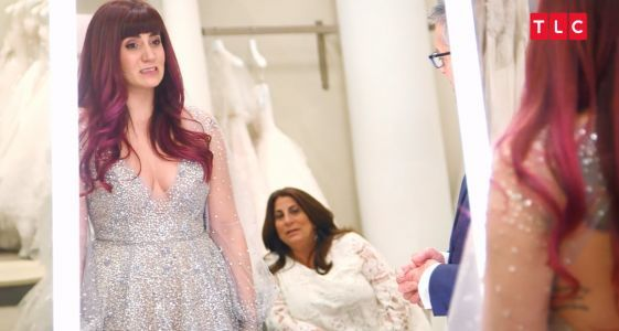 'Say Yes To The Dress': Bride's Family Savagely Tears Apart Her 'Dark Fairy' Wedding Dress In Exclusive Clip
