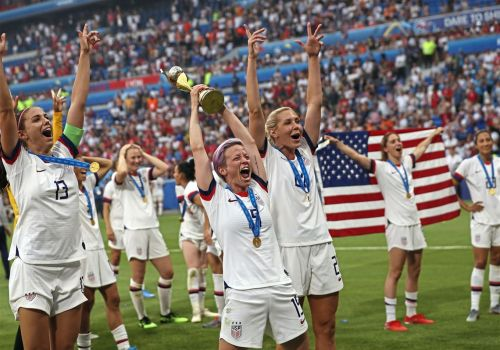 American women seek more than $66M in damages from U.S. Soccer Federation in lawsuit filed Thursday