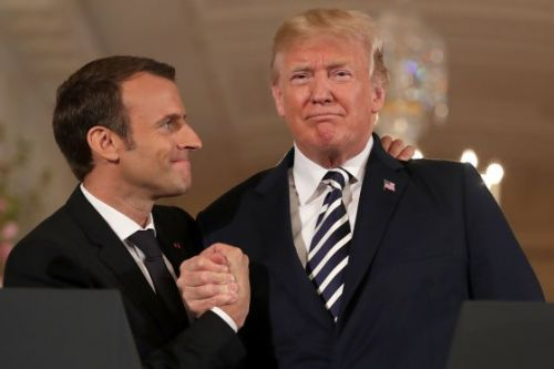 Emmanuel Macron's Address to Congress Was Full of Criticism for President Trump