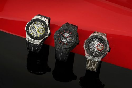 Hublot Creates Limited-Edition Trio of Big Bang Watches for Scuderia Ferrari