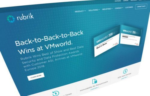 With $261 million raise, cloud data management company Rubrik hits $3.3 billion valuation