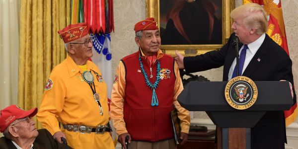 The incredible story of the Native American code talkers who outsmarted Japan during World War II