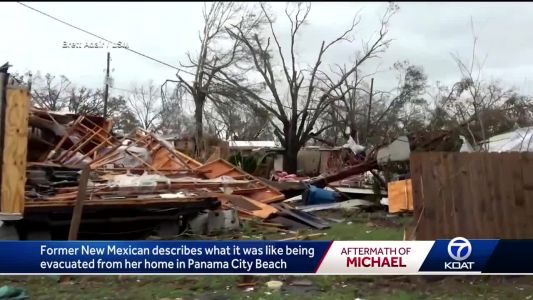 Former New Mexican displaced by Hurricane Michael