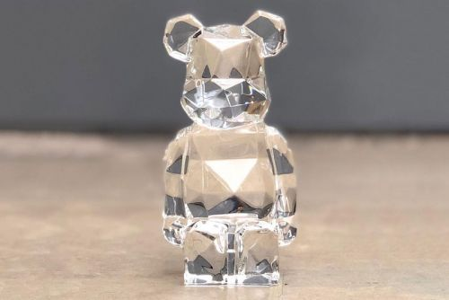 Fragment design & Baccarat's Hand-Blown BE RBICK Figure Will Run You $1,500 USD