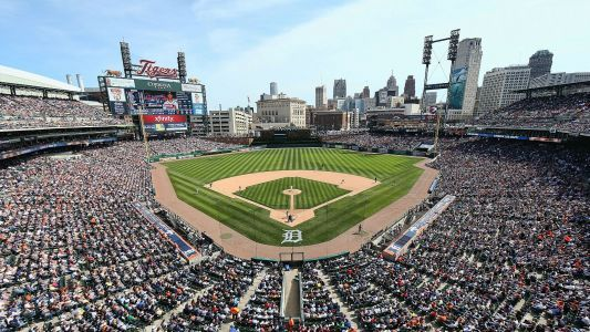 Comerica Park worker charged after spitting on pizza