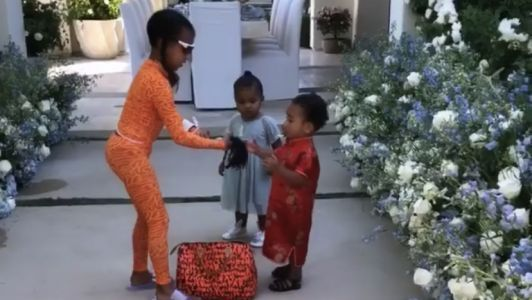 Cousins North West, True Thompson and Chicago West Spend Some Adorable Girl Time Together