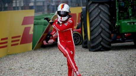 Mix of sympathy & scorn for Vettel after German crashes out of home grand prix to hand Hamilton win