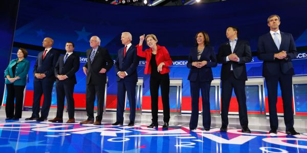 The Democratic presidential candidates aren't talking about the policies they'll actually have power to change