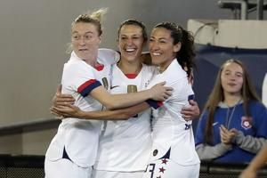 USWNT trounces Costa Rica 6-0 in Andonovski's debut