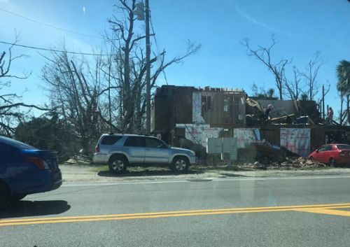 New Mexico natives in Florida talk about Hurricane Michael's impact