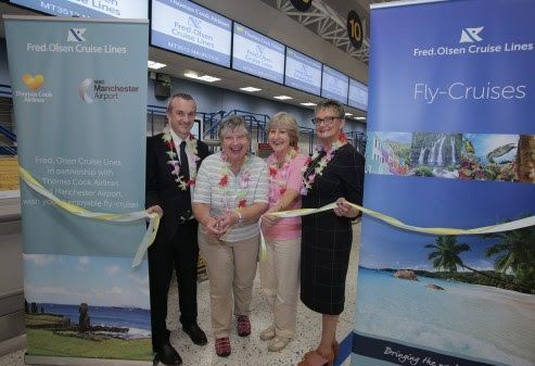 Jet, set, go.Fred. Olsen Cruise Lines celebrates inaugural Manchester to Mauriti
