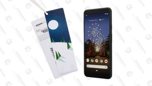 Pick Up the Google Pixel 3a XL for $479 from Amazon and Get a $100 Gift Card, Right Now