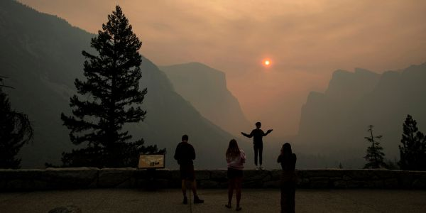 Yosemite reopens after a 3-week closure due to a massive wildfire that cost businesses hundreds of thousands of dollars