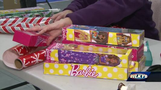 Volunteers wrap thousands of gifts for kids in Boys & Girls Clubs