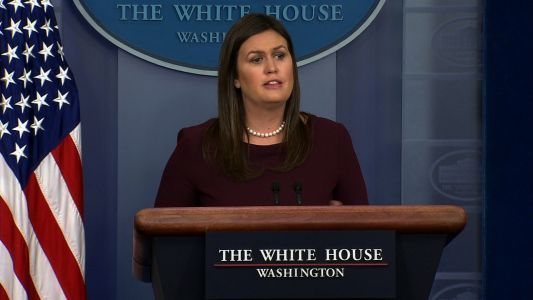 ​'I'm sorry for the mistake': Sarah Sanders issues correction for ​false claim about African-American jobs​