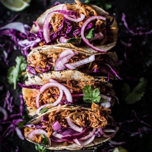 Authentic Mexican Pulled Pork Tacos