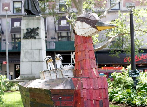 Broadway is for the birds this summer thanks to this artist
