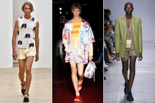 Milan fashion week 2019: Who wears short shorts? Men