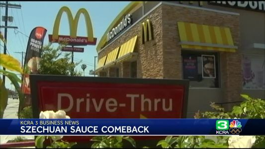 Business News: Szechuan sauce coming back to McDonald's