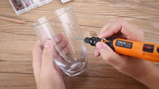 Tackle Tiny DIY Projects With This $16 Tacklife Cordless Rotary Tool